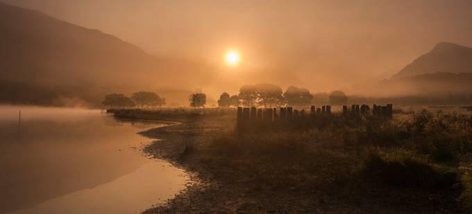 Misty Sunrise by ChrisWatkinsWales