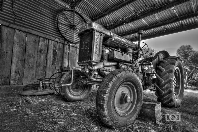 Paxton Tractor by TimDayPhotography - Farms And Barns Photo Contest