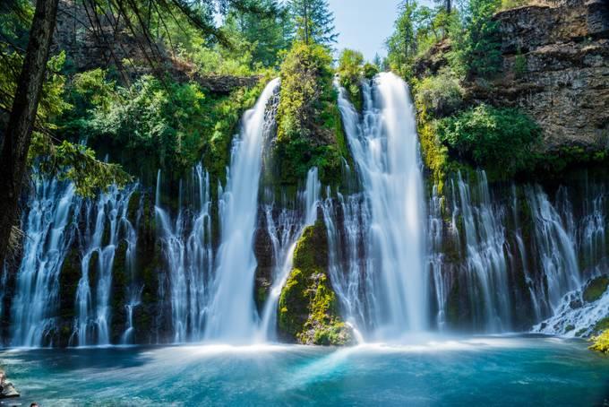 Mc Arthur-Burney Falls by Frenchycois
