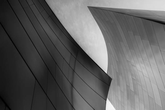 Black & White Steel by mikeguerra - Structures in Black and White Photo Contest