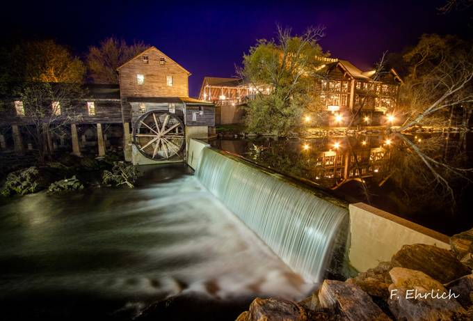 The Old Mill In Tennessee by floraehrlich - Energy Photo Contest