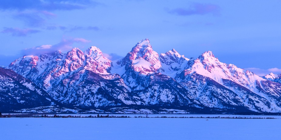 I love the Grand Tetons.