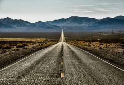 Death Valley Long Road