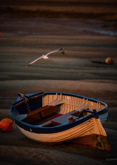 Norfolk rowing boat