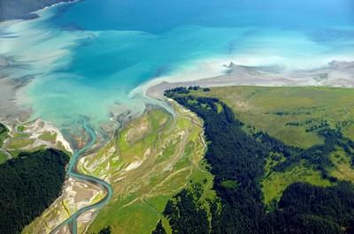 Glacier Bay delta