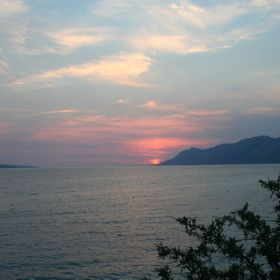 end of summer days on vacation in Baska Voda