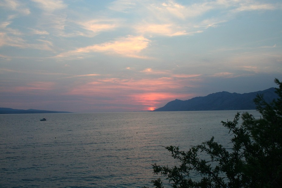 end of summer days on vacation in Baska Voda