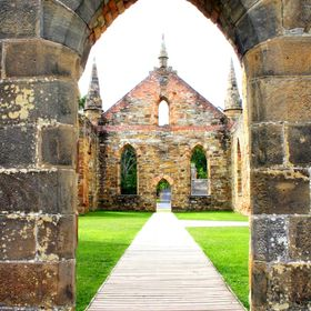 Old Church - Port Arthur Tasmania