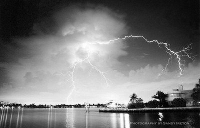 Lightning Over South Lake