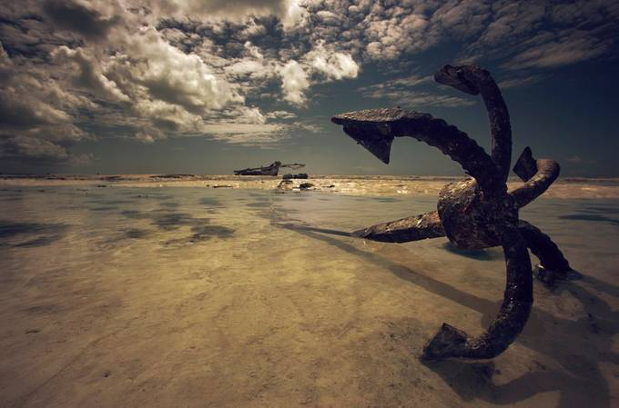 Anchor attack! by nickcalverey - Clever Angles Photo Contest