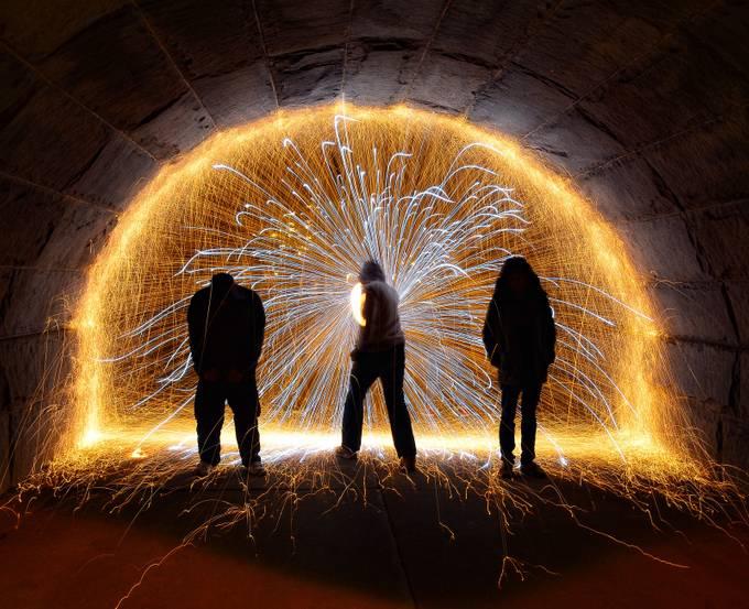 Steel wool - April 2016 by arturogonzalez - Mysterious Shots Photo Contest