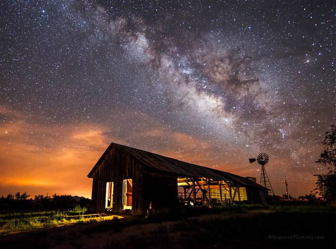 Empire Ranch by SaguaroPictures - Capture The Milky Way Photo Contest