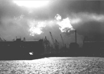 Power Station on the Elbe, Hamburg