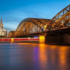 Cologne in motion.