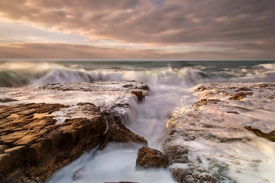 Taken along the Purbeck Coastline, Dorset on a stormy March morning
