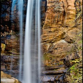 A beauty from my home town of Toccoa, GA, this is one of the highest waterfalls in the Eastern United States, the beautiful, Toccoa Falls.