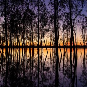 Sunrise at Hattah - Kulkyne National Park, Lake Mournpall. Some very minor adjustments in Lightroom. Pretty much as shot!
