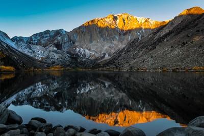 Convict Lake Sunrise - Reprocessed in LR