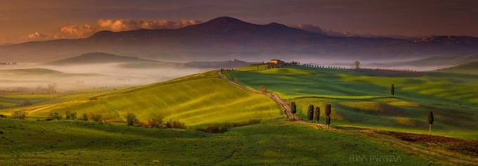 Val D'Orcia, Land Of Gods by ElenaParaskeva - Country Roads Photo Contest