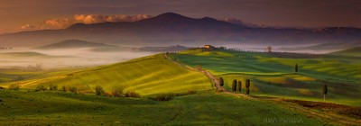Val D'Orcia, Land Of Gods
