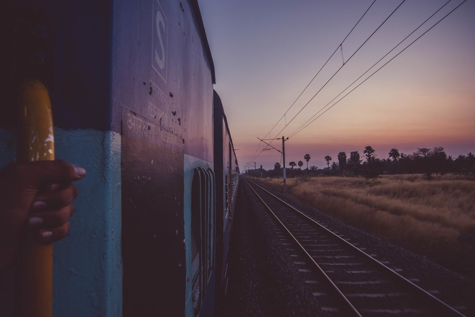 Train can be facinating