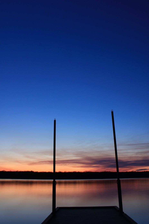A calm evening..