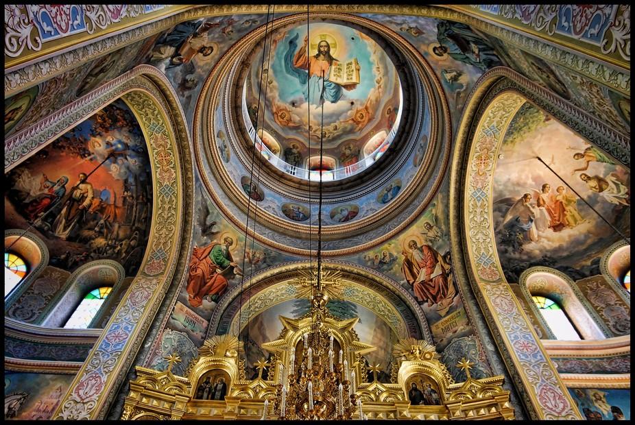 Capriana Monastery in Moldova