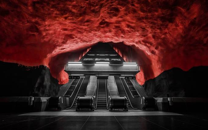 Raising Hell by ts446photo - Metro Stations Photo Contest