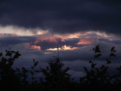 """Sunset on Canada Day, a.k.a. """"The Eye of Ba'al"""" !"""