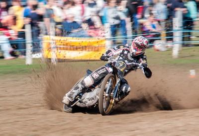 Kicking up the dirt