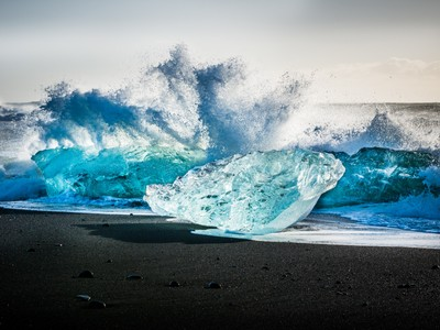 Waves and Ice