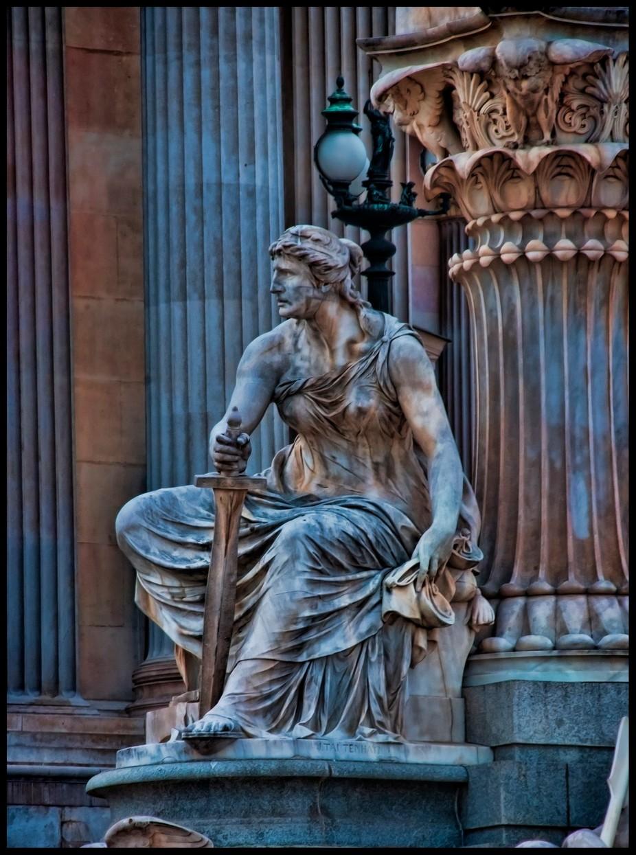 Vienna Statue 10