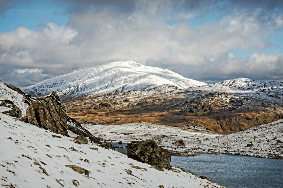 Taken early march, weekend trip to Snowdon Wales UK light was poor but did get a glimmer of sun f...