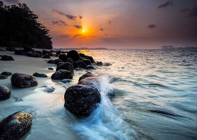 Punggol Beach by GkCM - Rule Of Thirds In Nature Photo Contest