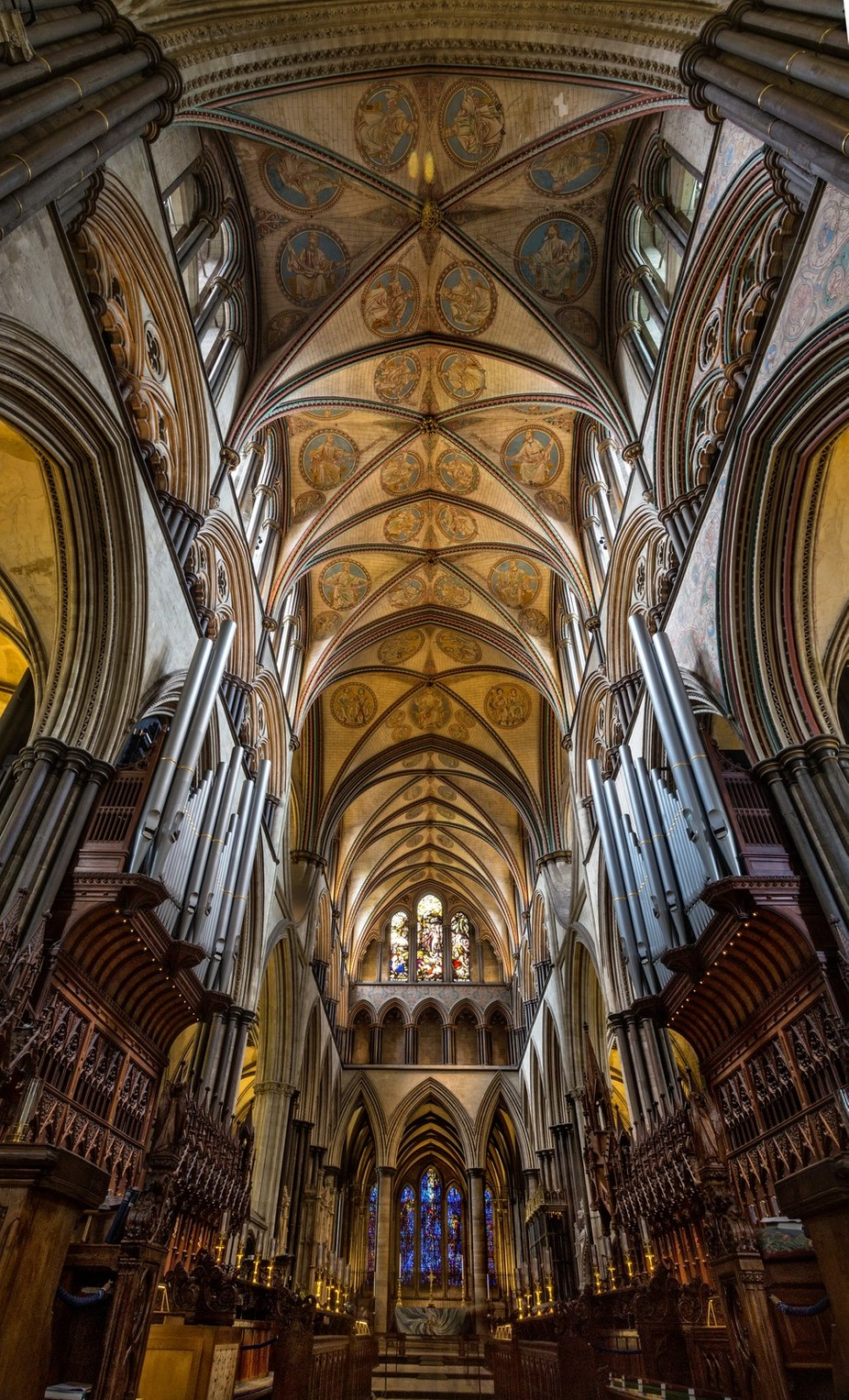 Salisbury Cathedral by ceridjones - High Ceilings Photo Contest