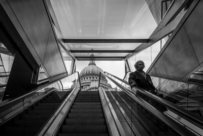 Up to St. Paul's