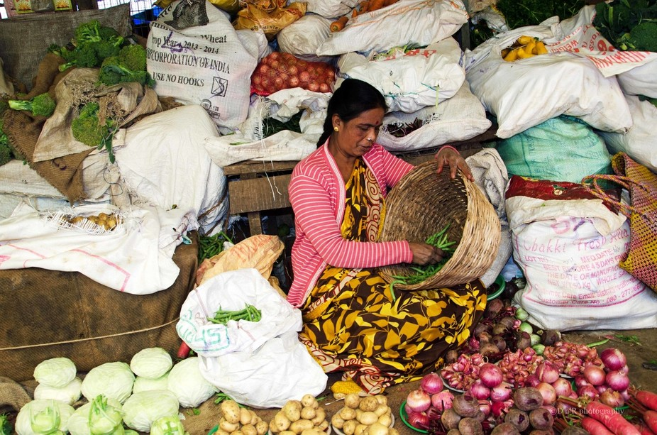 Market in Ooty India