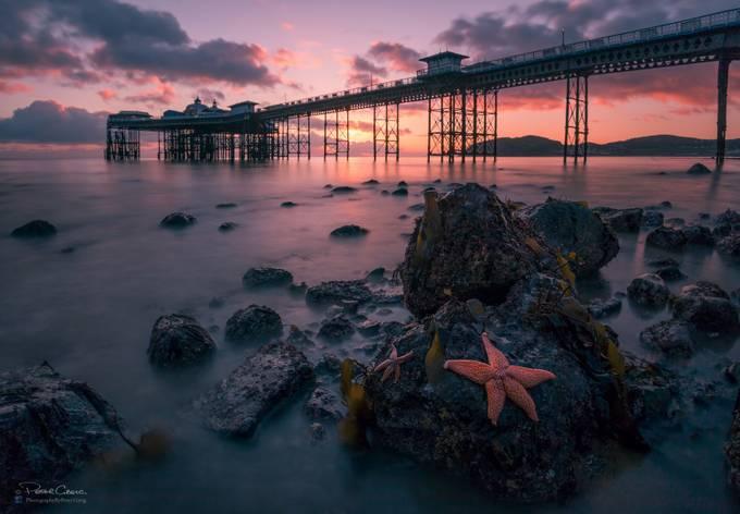 Llandudno Pier Sunrise by petergreig - Compositions 101 Photo Contest vol3