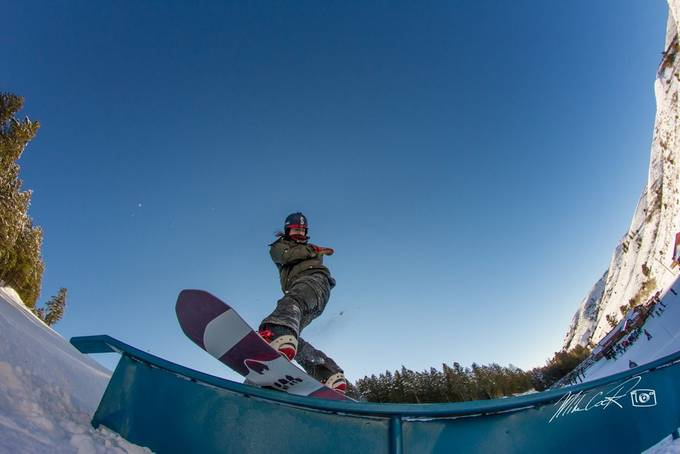 backside by jump1rope - Winter Sports Photo Contest