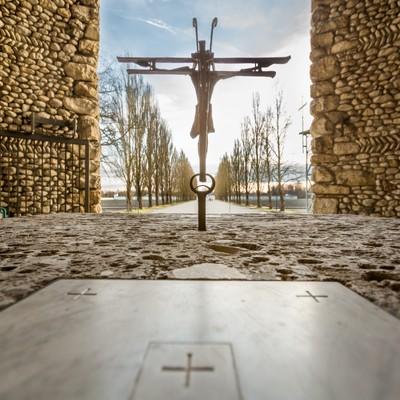Catholic Memorial at Dachau Concentration Camp
