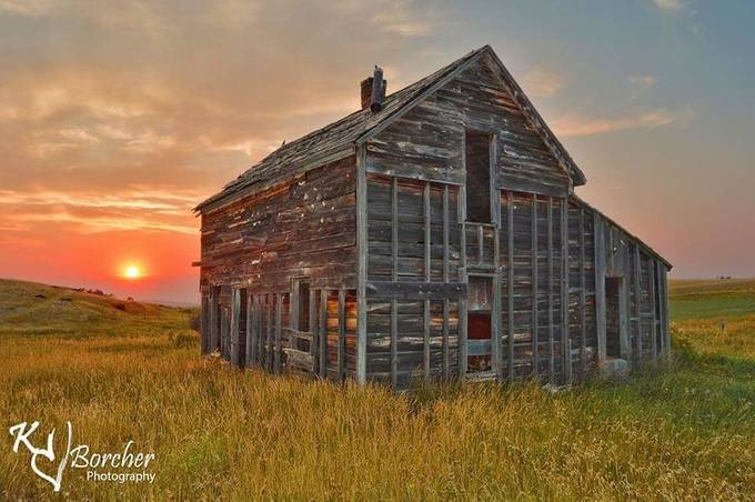 Stoyon's sunset by KBorcherPhotography - Farms And Barns Photo Contest