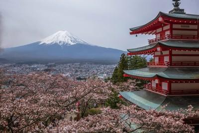 Chureito Pagoda_Japan