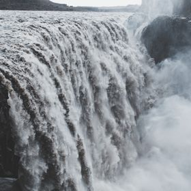 Dettifoss waterfall located in Iceland.