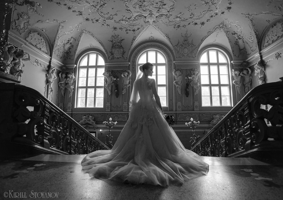 Bride at the Odessa Opera House