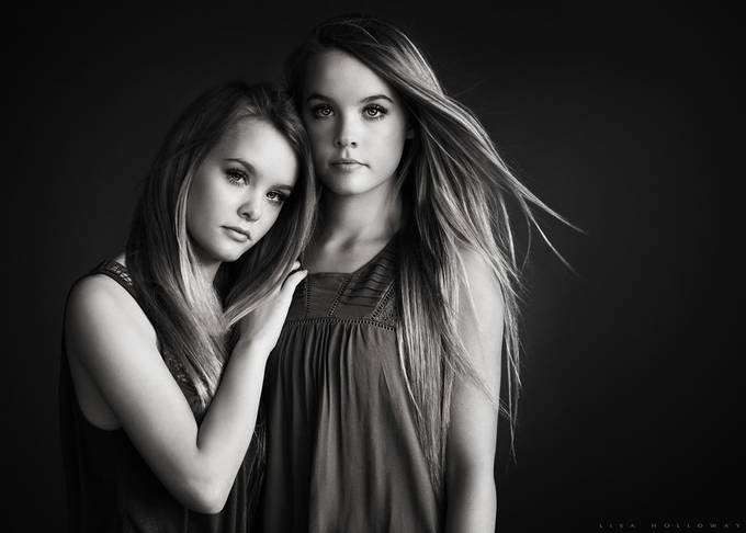 Hailee & Jaci by lisaholloway - Long Hair Photo Contest