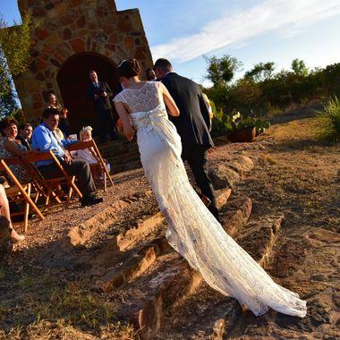 Bride at Tres Lunas Resort, Mason TX