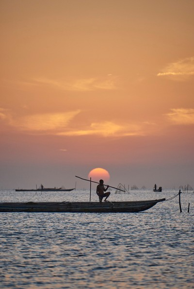 Sunset and Boat 2