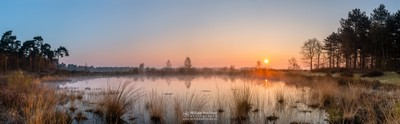 Panorama 'Misty Sunrise Fen'