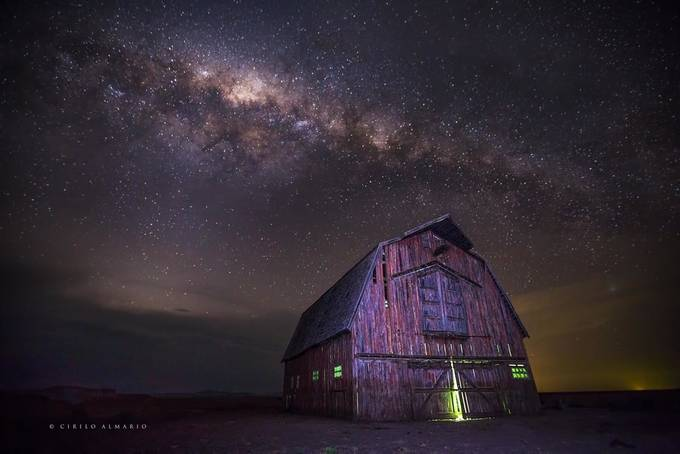 Superman Barn, Breeza, NSW by junalmario - Our World At Night Photo Contest