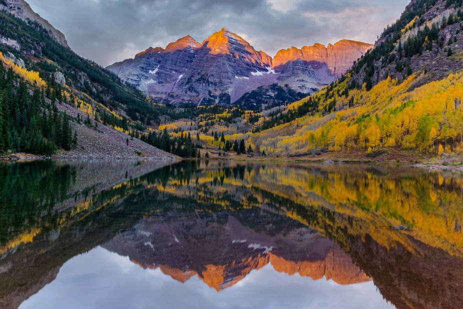 Maroon Bells fall